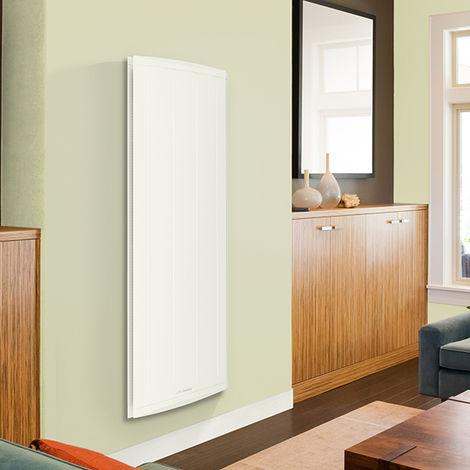Radiateur chaleur douce Mozart digital vertical blanc 1500W - blanc - blanc