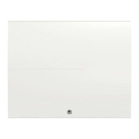 Radiateur chaleur douce Ténérife horizontal blanc 2000W (479316)