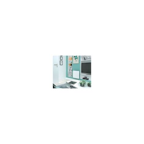 RADIATEUR CHALEUR DOUCE THERMOR INGENIO PROG (Blanc - Horizontal - 1500 W - 478 x 601 x 138 mm)