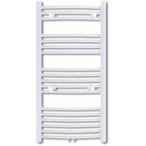 Radiateur chauffage central sèche-serviettes circulation d'eau chaude hauteur 116 cm salle de bain