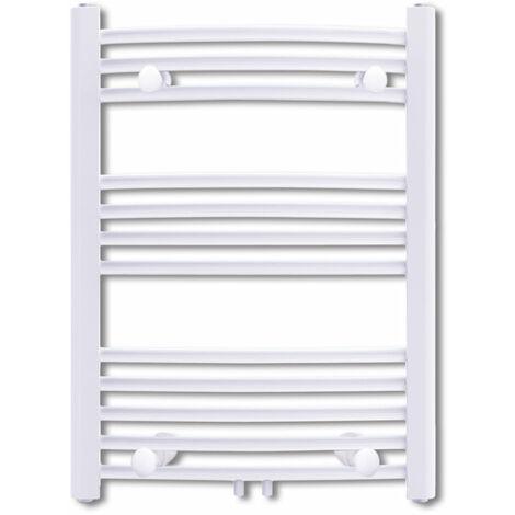 Radiateur chauffage central sèche-serviettes circulation d'eau chaude hauteur 76 cm salle de bain