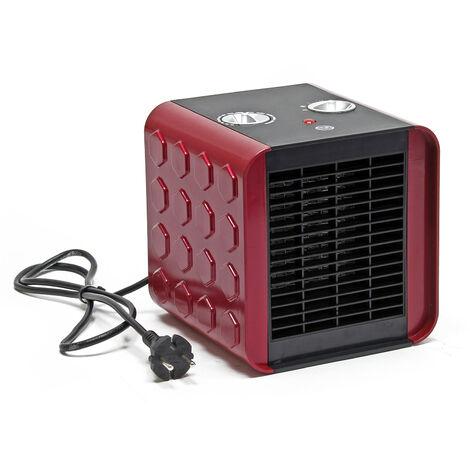 Radiateur Chauffage Céramique 1500 watts Ventilateur Oscillation Thermostat Protection surchauffe