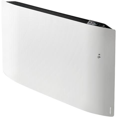 Radiateur connecté - Divali pilotage intelligent connecté horizontal 1000W blanc carat