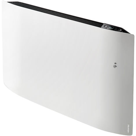 Radiateur connecté - Divali pilotage intelligent connecté horizontal 1250W blanc carat