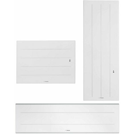 Radiateur connecté Ovation 3 - Horizontal - 1250W - Blanc - Thermor Pacific