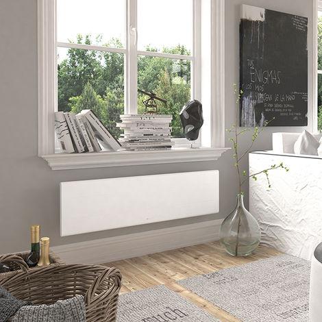 Radiateur connecté Ovation 3 plinthe blanc - 1000W