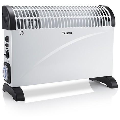 radiateur convecteur lectrique tristar ka5914 2000w noir. Black Bedroom Furniture Sets. Home Design Ideas