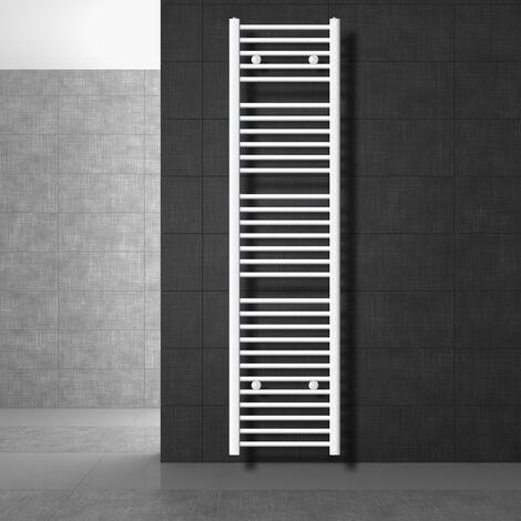 Radiateur de chauffage salle de bain sèche-serveittes chaufferette 400 x 1800 mm