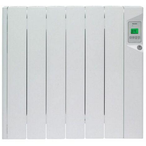 radiateur décoratif à fluide 900w blanc. - 0636269 - ducasa
