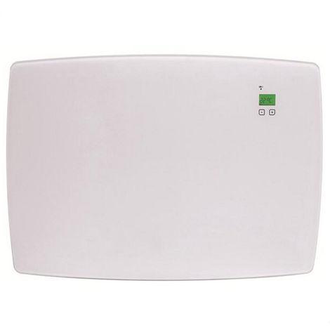 radiateur décoratif à inertie 1200w blanc - 0.637.822 - ducasa