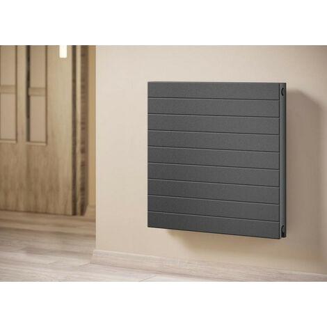 Radiateur décoratif de très haute qualité anthracite 600-600 mm