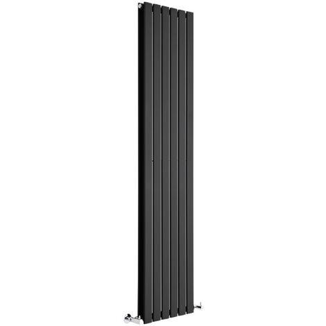 "main image of ""Radiateur Design Delta - Vertical Noir"""