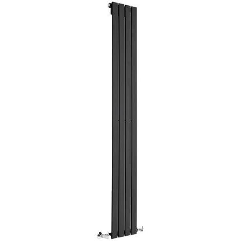 Radiateur Design Delta - Vertical Noir