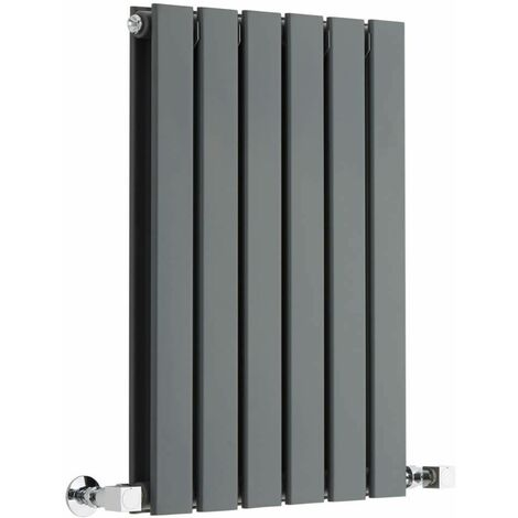 Radiateur Design Horizontal Anthracite Delta 63,5cm x 42cm x 4,5cm 573 Watts