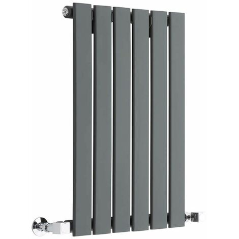 Radiateur Design Horizontal Anthracite Delta 63,5cm x 42cm x 8,4cm 376 Watts
