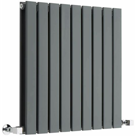 Radiateur Design Horizontal Anthracite Delta 63,5cm x 63cm x 5cm 860 Watts
