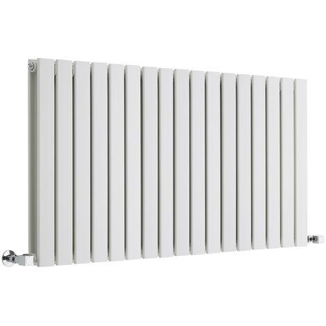 Radiateur Design Horizontal Blanc Delta 63,5cm x 119cm x 3cm 1624 Watts