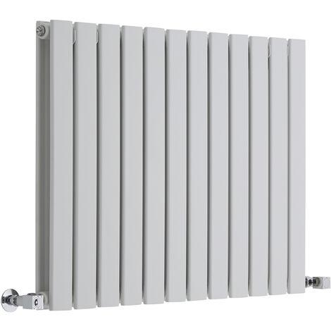 Radiateur Design Horizontal Blanc Delta 63,5cm x 84cm x 5cm 1146 Watts