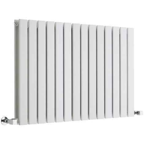 Radiateur Design Horizontal Blanc Delta 63,5cm x 98cm x 5cm 1338 Watts