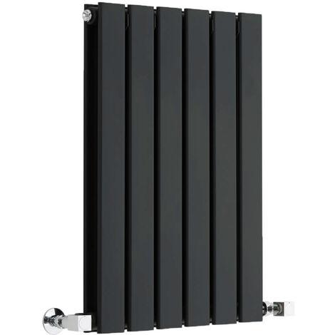 Radiateur Design Horizontal Noir Delta 63,5cm x 42cm x 5cm 573 Watts