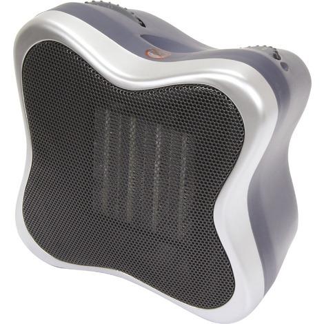 Radiateur design soufflant céramique PVM - 1500 W - Gris