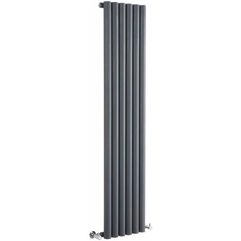Radiateur Design Vertical – Anthracite – 160 x 35,4cm – Savy