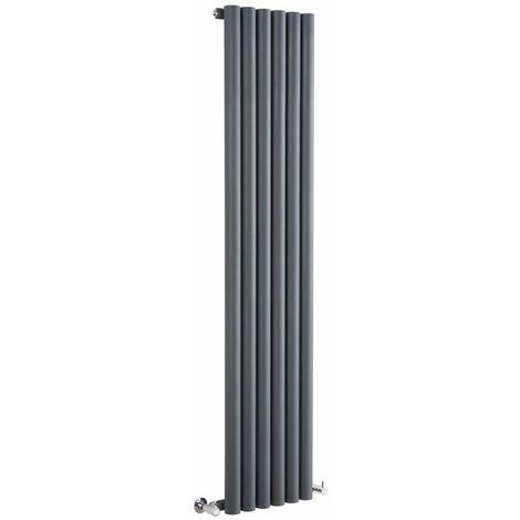 Radiateur Design Vertical – Anthracite – 178 x 35,4cm – Savy
