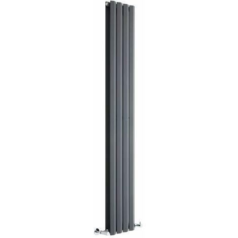 Radiateur Design Vertical Anthracite Salisbury 178cm x 28cm x 8,6cm 1079 Watts