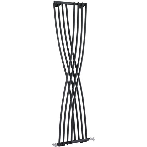 Radiateur Design Vertical Anthracite Xcite 177,5cm x 45cm x 11cm 750 Watts