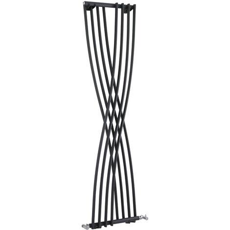 Radiateur Design Vertical Anthracite Xcite 177,5cm x 45cm x 11cm 925 Watts