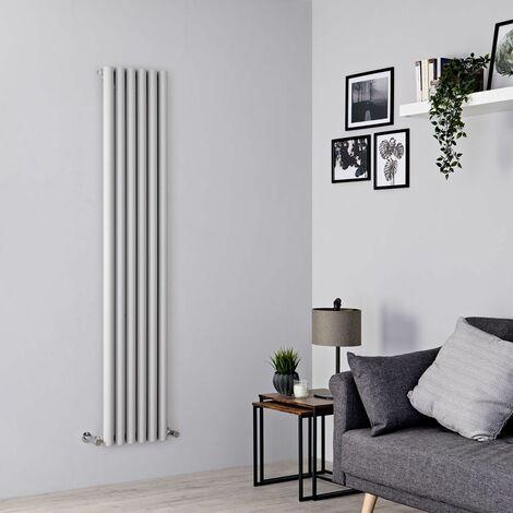 Radiateur Design Vertical – Argent – 178 x 35,4cm – Savy