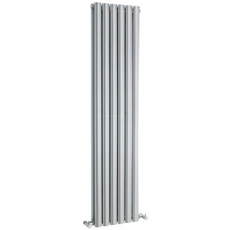 Radiateur Design Vertical Argent Vitality 150cm x 35,4cm x 10,5cm 1148 Watts