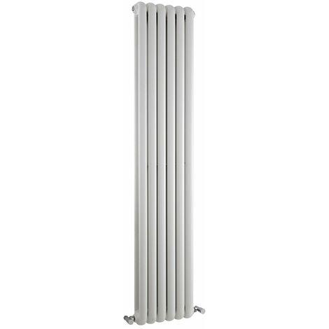 Radiateur Design Vertical Blanc Saffré 180cm x 38,3cm x 8cm 1489 Watts