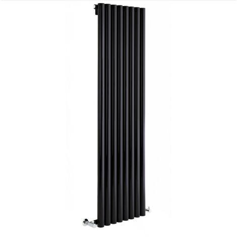 Radiateur Design Vertical – Noir – 160 x 35,4cm – Savy