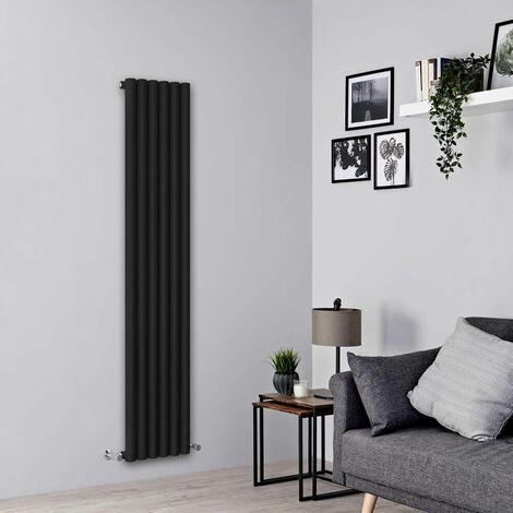 Radiateur Design Vertical – Noir – 178 x 35,4cm – Savy