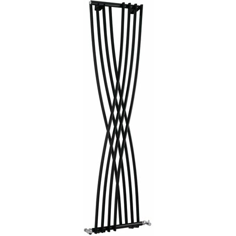 Radiateur Design Vertical Noir Xcite 177,5cm x 45cm x 11cm 840 Watts