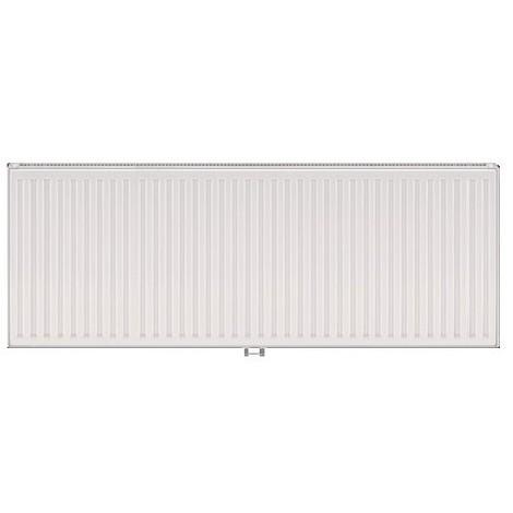Radiateur eau chaude 2171W panneau double blanc type 21 H600mm L1600mm raccordement central VONOVA T6 FINIMETAL 21VM60-1600