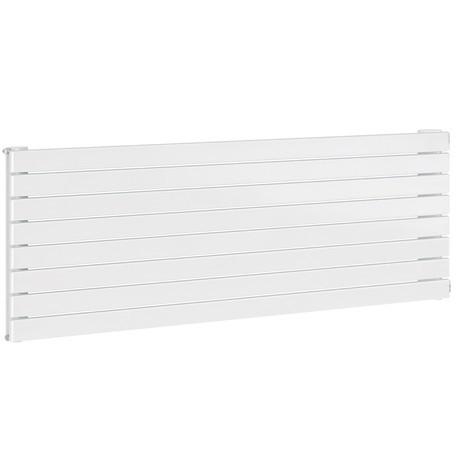 Radiateur eau chaude 914W blanc 8 tubes type H10 sans ailettes H605mm L1400mm Chorus FINIMETAL 8SH10140