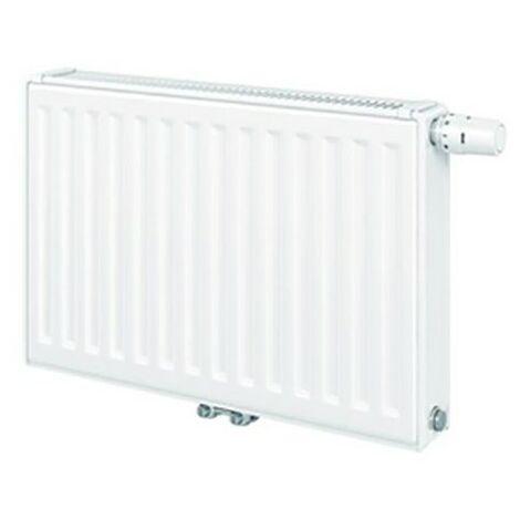 Radiateur Eau chaude Panneau T6 3010 Finimetal - De hauteur 500 à 900mm - De 226 à 5798W - Type 21 - 600 - 400
