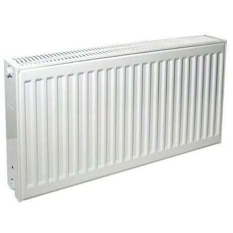 Radiateur eau chaude profilé compact Therm-x2 - Profil-K type 22 - 1000W - Blanc