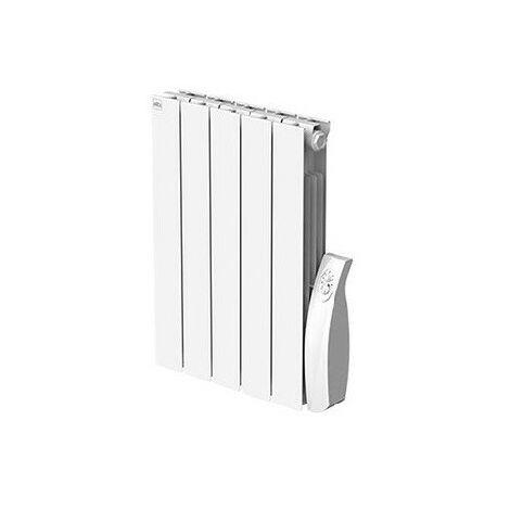 Radiateur electrique 750W inertie à fluide caloporteur blanc Horiz 475x580x80mm Fil Pilote Alpinia Soft+ FRICO ALP07S+