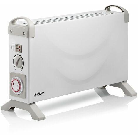 Radiateur électrique à convecteur - 2000W - chauffage avec minuteur - Thermostat 3 niveaux