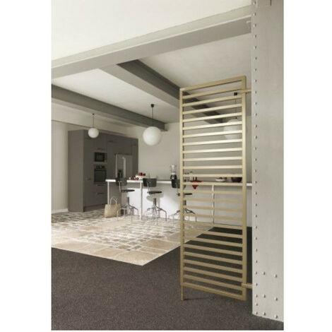 Radiateur électrique à fluide ThermoActif Acova KADRANE ELECTRIQUE sans regulation (Blanc - 600 W - 140,3 x 50 x 3 cm - Sans régulation)