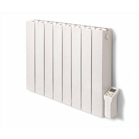 Radiateur électrique à inertie sèche 2000 W DELTACALOR Cubo horizontal blanc