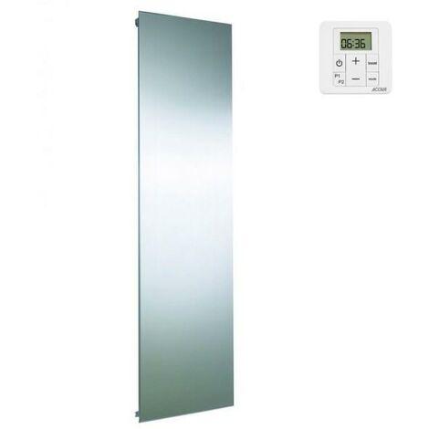 Radiateur electrique ACOVA ALTIMA Inox Vertical 1250W - inertie fluide - TMHI-125-060/GF