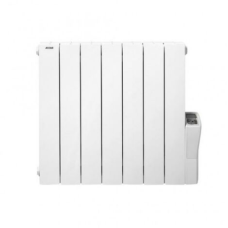 Radiateur électrique aluminium Atoll - Blanc - 750W - Acova