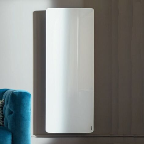 Radiateur électrique Atlantic DIVALI Premium Vertcial Blanc 1000W Lumineux - 507639
