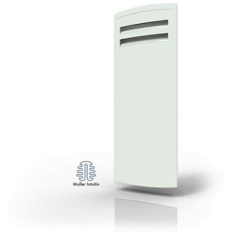 Radiateur électrique connecté Adagio Smart ECOcontrol - Vertical - 1000W - Blanc