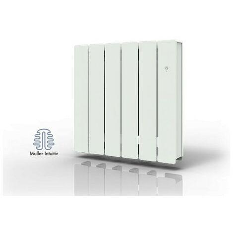 Radiateur électrique connecté NovaFluid Smart ECOcontrol - Horizontal - 1000W - Blanc