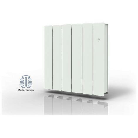 Radiateur électrique connecté NovaFluid Smart ECOcontrol - Horizontal - 750W - Blanc
